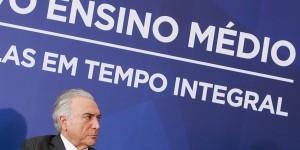 O governo federal anunciou, por Medida Provisória, uma grande reestruturação do Ensino Médio,em cerimônia lotada em Brasília, nesta quarta-feira, dia 22 de setembro
